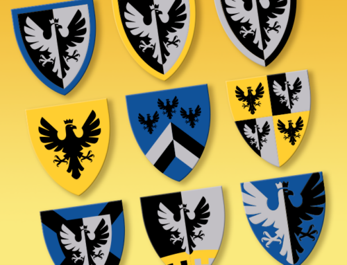 Black Falcon shields