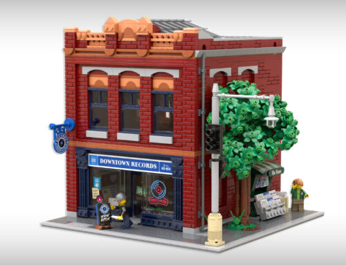 Downtown Records on LEGO Ideas