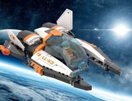 LL-X3 Manta on LEGO Middle East!